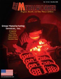 Group Manufacturing Services featured in A2Z Metalworker Magazine