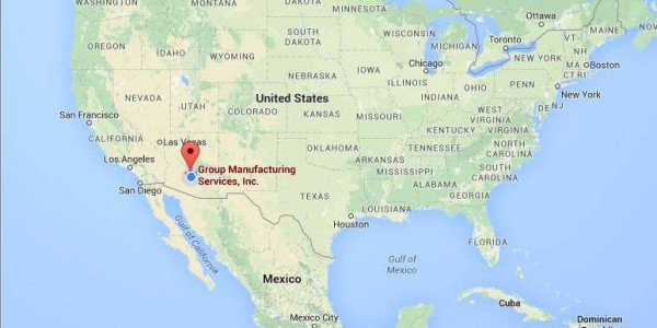 National Shipping Network | Group Manufacturing Services, Inc.